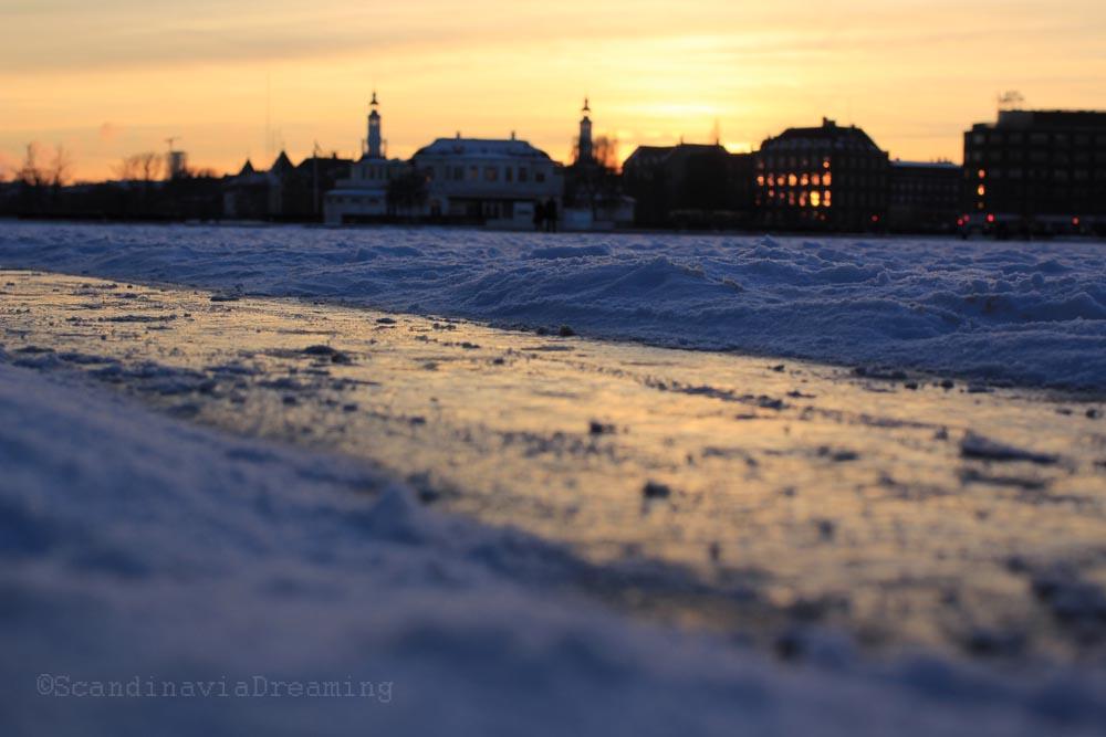 lac coucher de soleil - photo #36